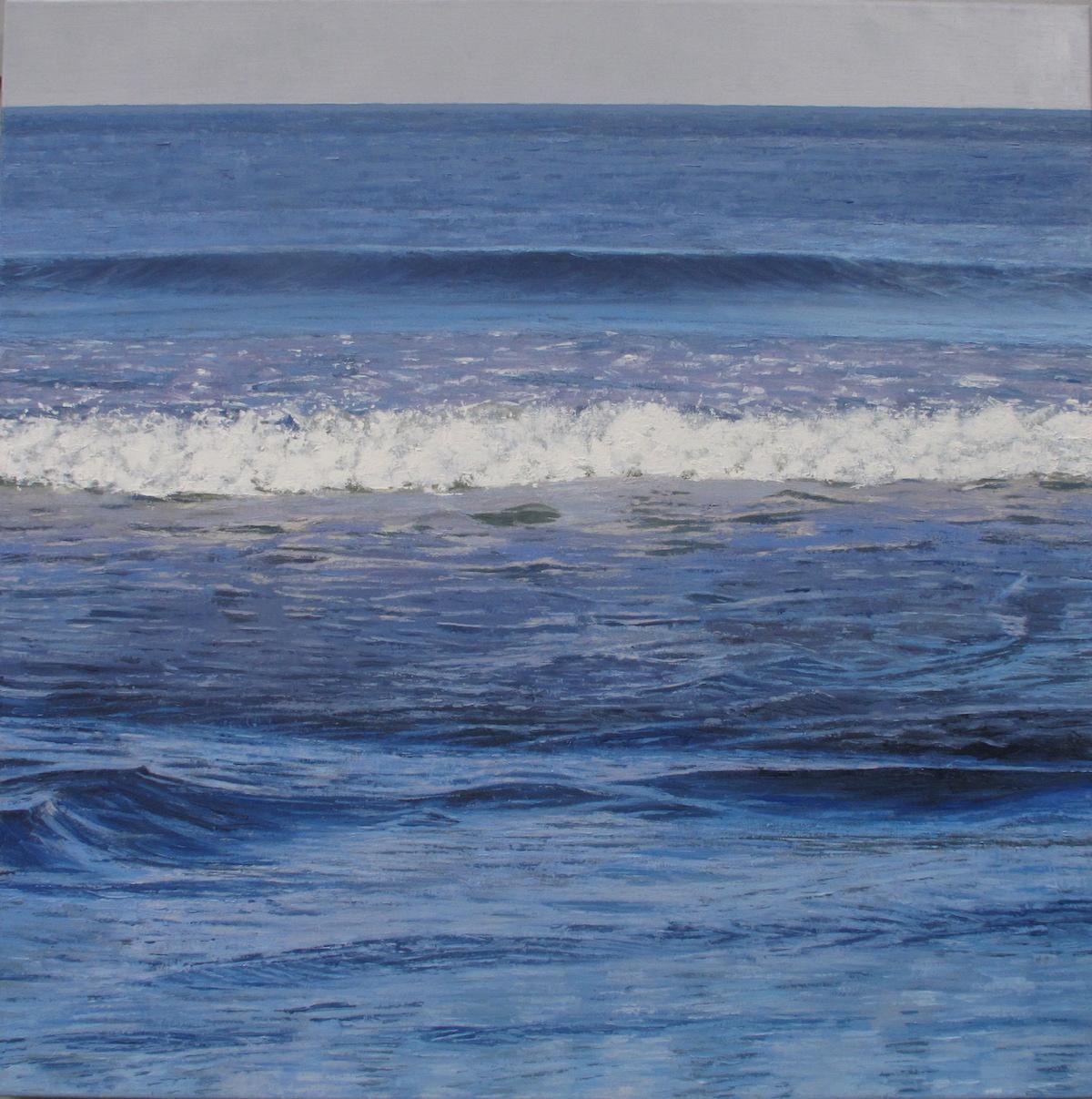 Blue Painting 2018 30x30 copy