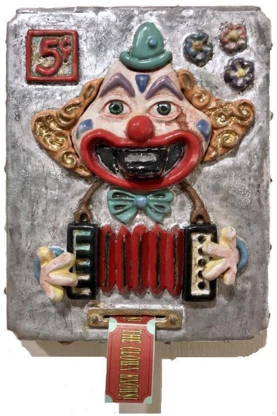Craig Wood 2017 The Clown Knows! 8x10