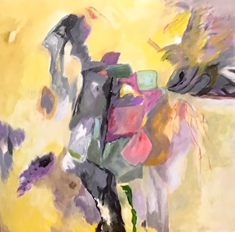"GoldRush,AcrylicOnCanvas,24x24"",2019"