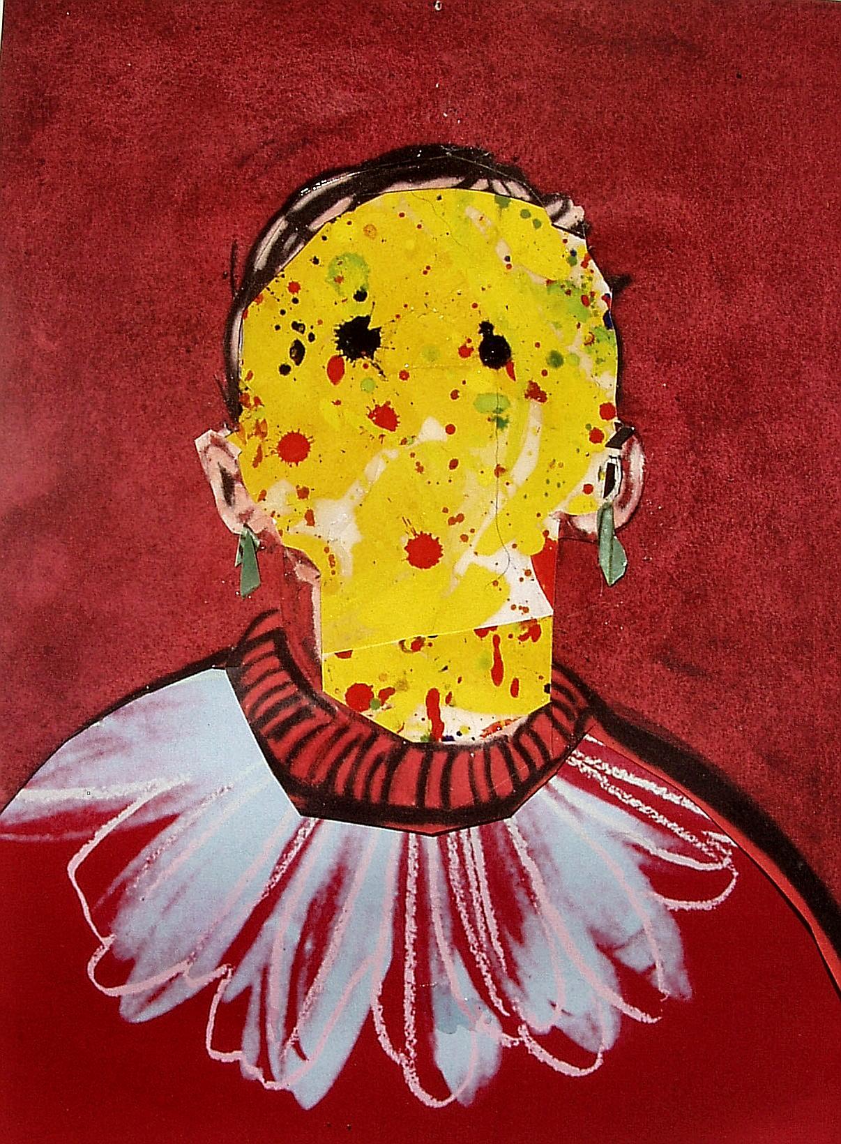 yellow portrait #1 gertrude abramson