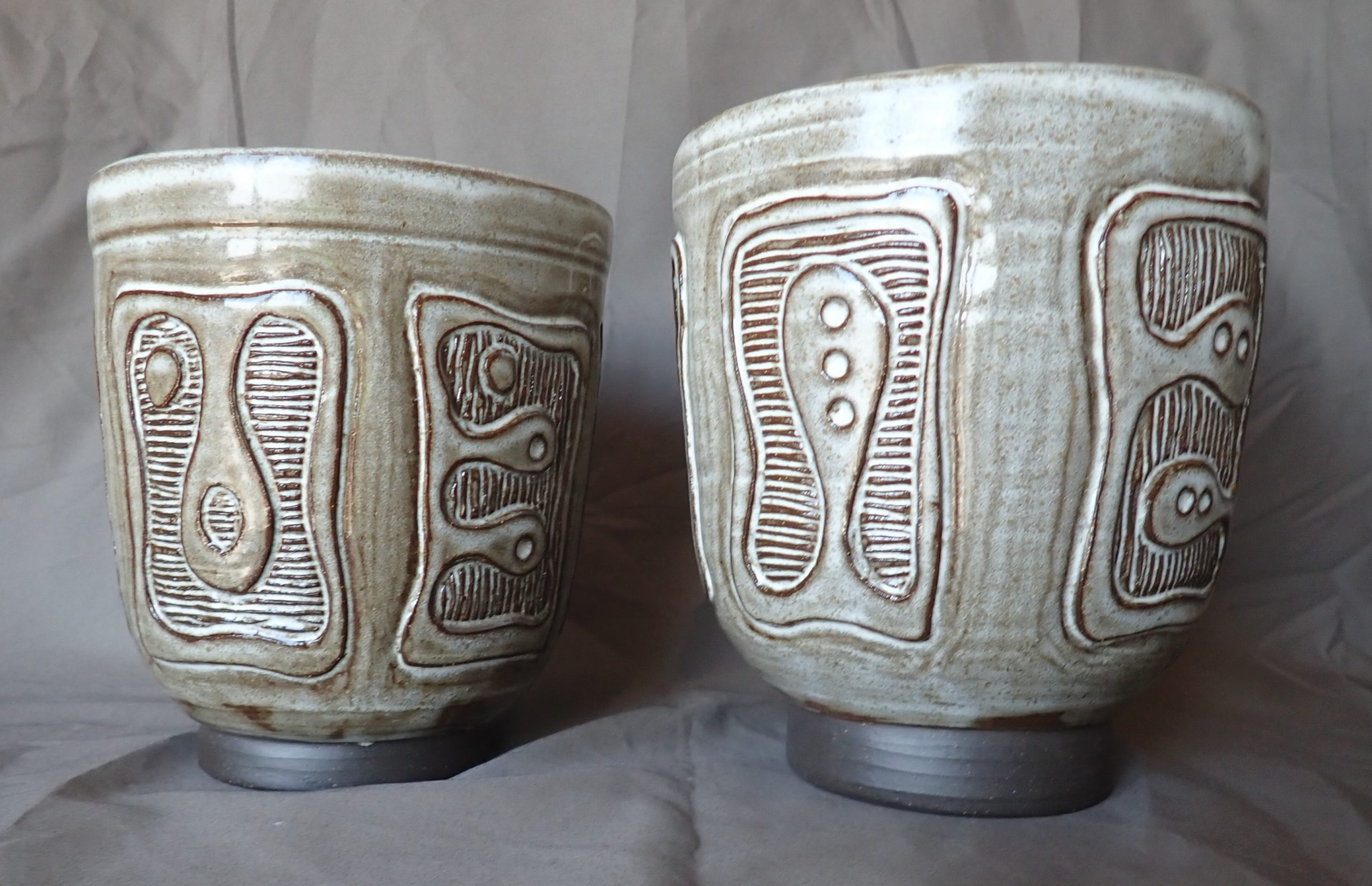 glyphics white glaze
