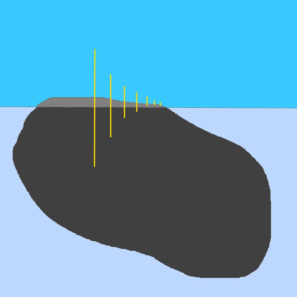 Boulder afloat 2