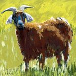 Jenny's Brown Goat WAAM-5008321f