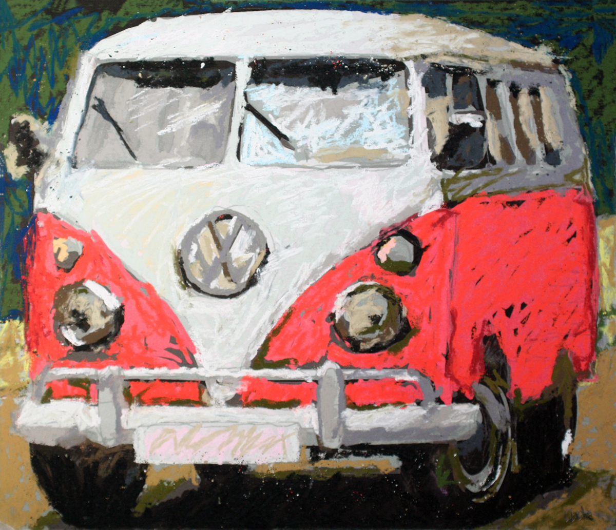VW Red Bus Pates-b4cc6c13
