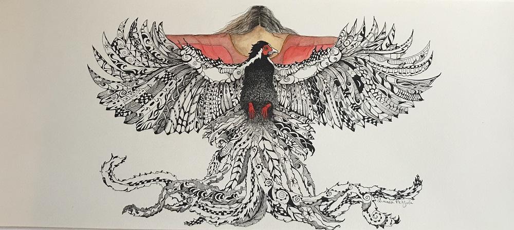 PEN AND INK FREE BIRD-fff88cae