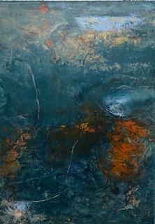 New Horizons 1, Oil on Paper 14 X 11-2d4b9780